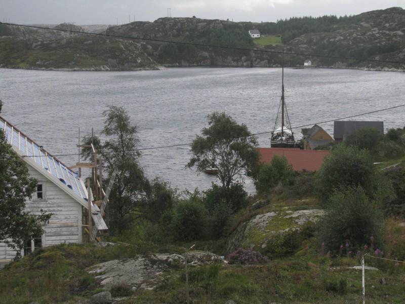 FRå Siglo mot Slåttholmen