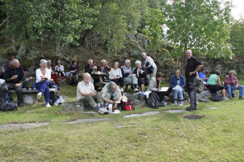 Jan Husebø fortel om  Romsa-øyane