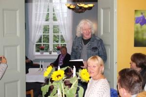 Lars Mæland ønskjer velkommen