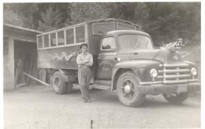 Sverre Litlabø og lastebilen