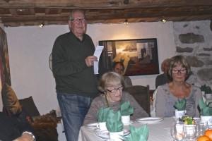 Anstein Lohndal fortel om skipinga av Stord sogelag 1995