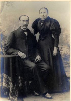Eline og Peder (Per) Lundemannsverk ca. 1896